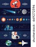 set of creative vector... | Shutterstock .eps vector #669272596