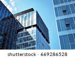 modern building.modern office... | Shutterstock . vector #669286528