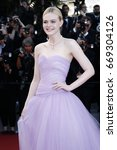 cannes  france   may 24  elle... | Shutterstock . vector #669304126
