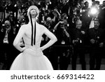 cannes  france   may 24  elle... | Shutterstock . vector #669314422