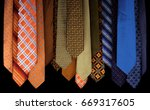 Colorful Set Of Ties