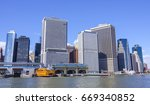 south ferry terminal in... | Shutterstock . vector #669340852