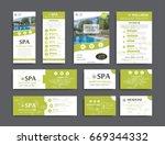brand identity template... | Shutterstock .eps vector #669344332