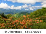 Appalachian Mountains Dotted...