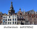 histrorical houses and the... | Shutterstock . vector #669378562