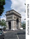 arc de triomphe  paris | Shutterstock . vector #669388756