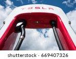 eidfjord  norway   june 11 ...   Shutterstock . vector #669407326