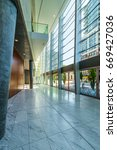 modern lobby  hallway of the... | Shutterstock . vector #669427036