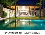 interior and exterior  design ... | Shutterstock . vector #669432028