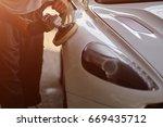 car detailing series  ... | Shutterstock . vector #669435712