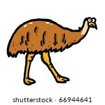 Emu Vector Illustration