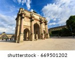 paris  france   may 29  2017 ... | Shutterstock . vector #669501202