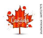 abstract maple leaf design of...   Shutterstock .eps vector #669517975