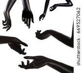 mannequin hand | Shutterstock . vector #669527062