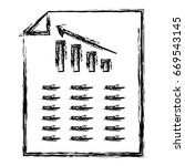 paper document with statistics