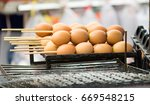 grilled egg | Shutterstock . vector #669548215