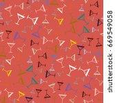 seamless pattern background...   Shutterstock .eps vector #669549058
