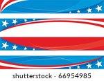 usa banners set | Shutterstock .eps vector #66954985