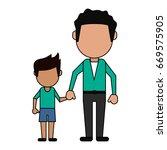 happy family united | Shutterstock .eps vector #669575905