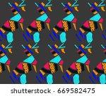 Fashionable Seamless Pattern I...
