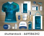 gift items business corporate... | Shutterstock .eps vector #669586342