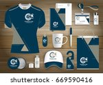 gift items business corporate... | Shutterstock .eps vector #669590416