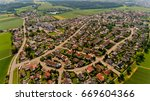 Aerial View Of Neu Ulm City....