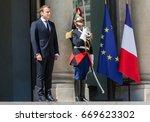 paris  france   jun 26  2017 ... | Shutterstock . vector #669623302