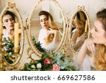 Pretty Young Girl. Woman With...