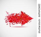illustration displays the... | Shutterstock .eps vector #669642682