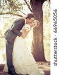 bride and groom | Shutterstock . vector #66965056