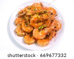 Thai Food   Shrimps Fried With...