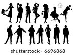 people | Shutterstock . vector #6696868