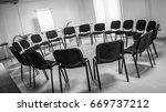 empty meeting room. | Shutterstock . vector #669737212