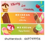 collection of ice cream banners ...   Shutterstock .eps vector #669749956
