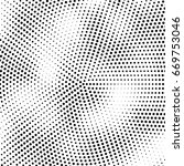 abstract halftone dotted... | Shutterstock .eps vector #669753046