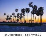 Venice Beach After Sunset  ...