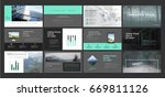 original presentation templates.... | Shutterstock .eps vector #669811126