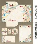 stationery set  eps10 | Shutterstock .eps vector #66982078