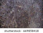 metal texture with scratches... | Shutterstock . vector #669858418