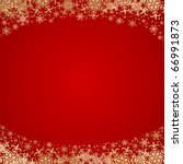 beautiful christmas background... | Shutterstock .eps vector #66991873