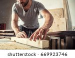 A Young Male Carpenter Builder...