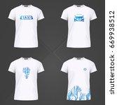 original print for t shirt. t...   Shutterstock .eps vector #669938512