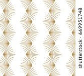 japanese pattern background.... | Shutterstock .eps vector #669951748