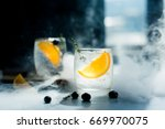 glass of water that looks cool... | Shutterstock . vector #669970075
