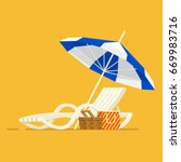 vacation and travel concept.... | Shutterstock .eps vector #669983716