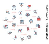 charity  sponsorship donation...   Shutterstock . vector #669983848