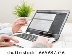developing programming and... | Shutterstock . vector #669987526