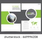 abstract vector modern flyers... | Shutterstock .eps vector #669996208