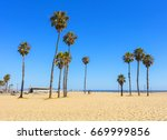 view of a cluster of very tall... | Shutterstock . vector #669999856
